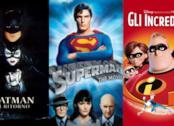 Tre film supereroistici che compongono la classifica