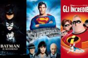 Tre film supereroistici che compongono la classifica