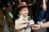 Rick Grimes Junior alla convention di The Walking Dead