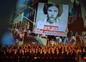La fotogallery del memorial per Carrie Fisher e Debbie Reynolds