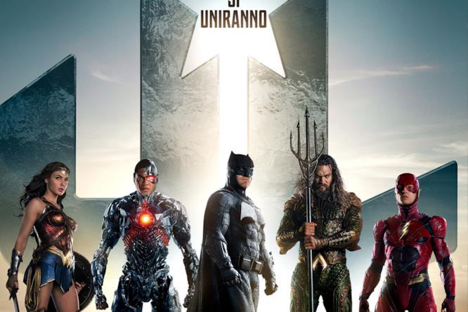 Gli eroi di Justice League si uniranno al cinema a novembre 2017