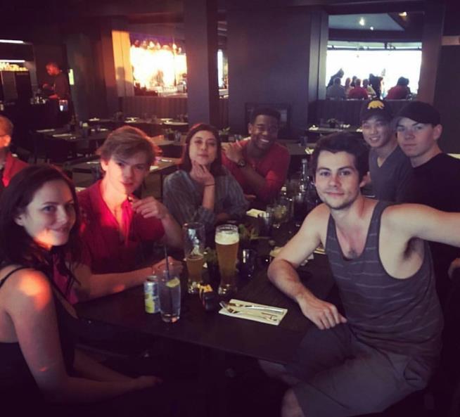 Il cast di The Maze Runner 3 riunito in Sudafrica