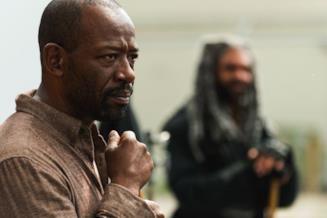 The Walking Dead: Morgan con Ezekiel