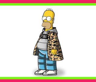 I Simpson in abiti streetstyle