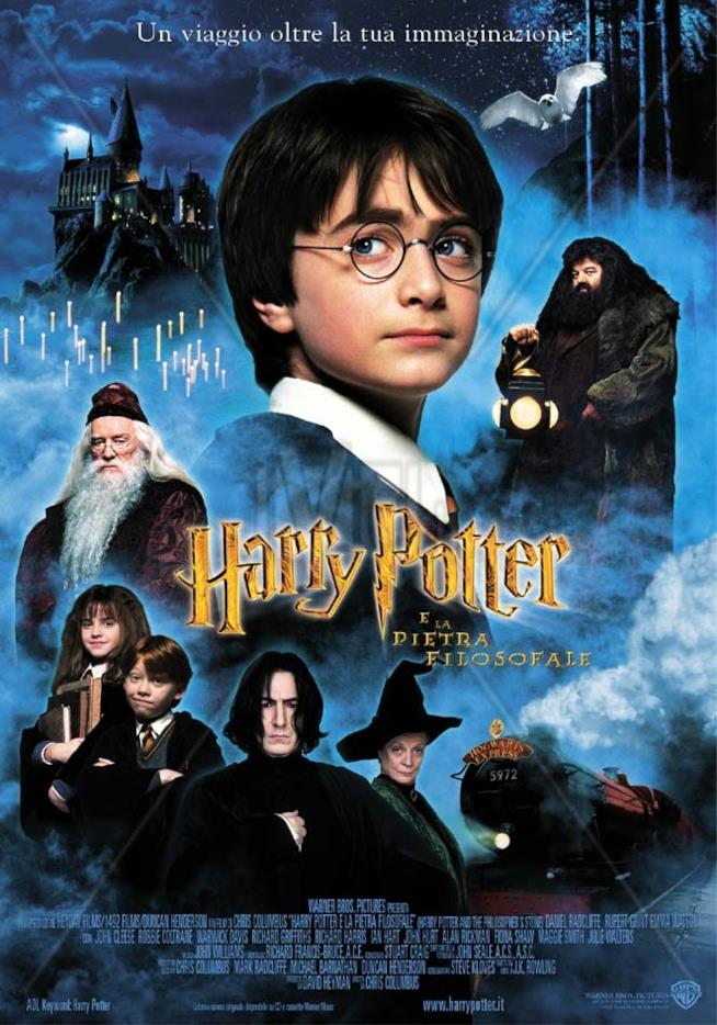 Il poster di Harry Potter e la Pietra Filosofale