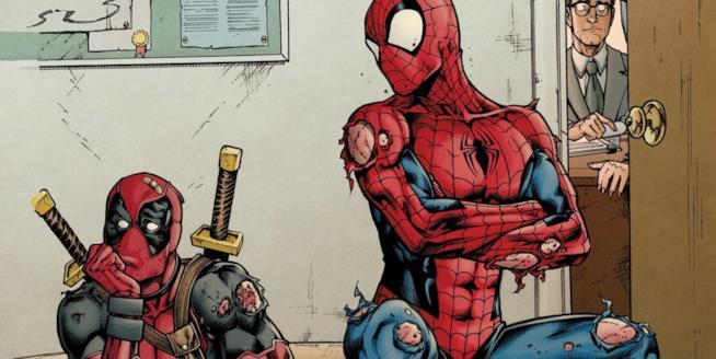 Deadpool, Spider-Man e la ceretta brasiliana