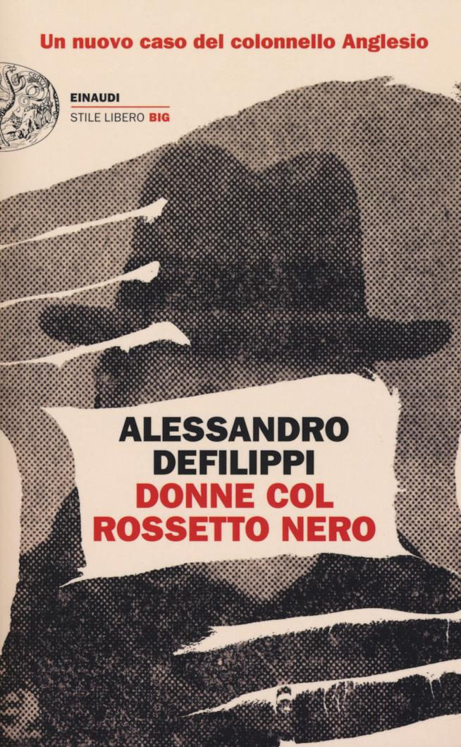 La copertina del libro di Alessandro Defilippi