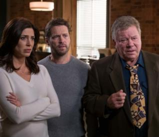 William Shatner nella stagione 2 di Private Eyes