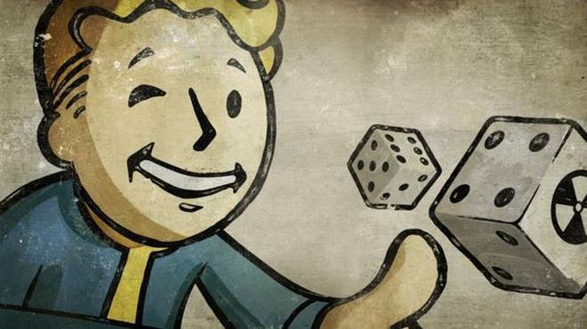 Il pip boy di Fallout lancia dei dadi