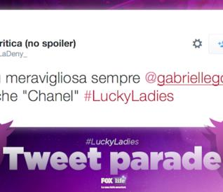 I best tweet con #LuckyLadies