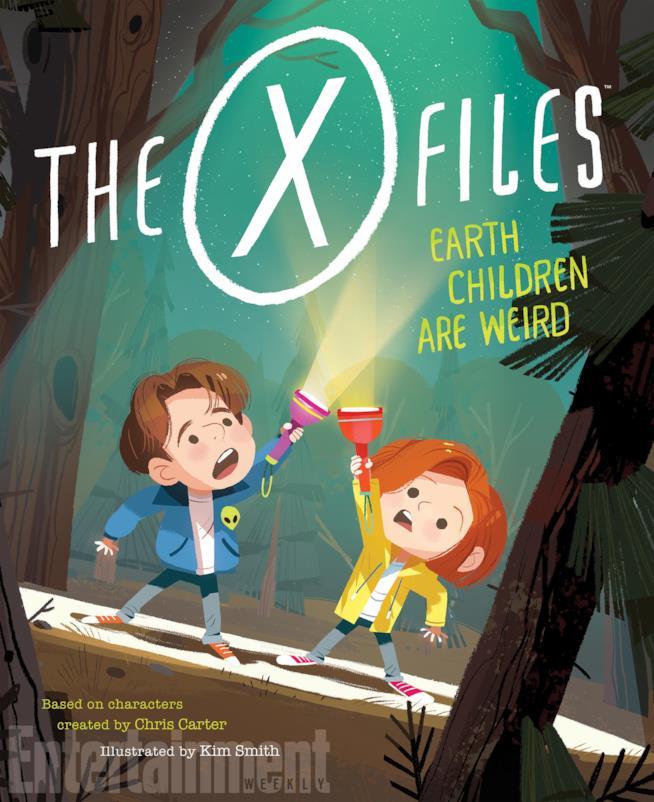 X-Files: Earth Children Are Weird, la copertina