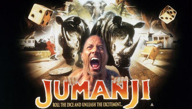 Jumanji 2: The Rock