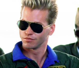 Val Kilmer in Top Gun del 1986
