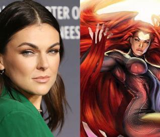 Serinda Swan e la Regina Medusa nei fumetti Marvel