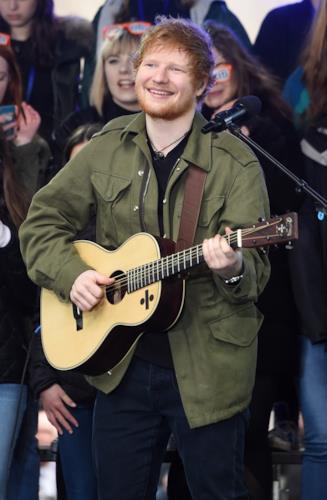 Today Show: Ed Sheeran live