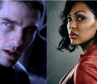Tom Cruise era il protagonista del film  Minority Report, Meagan Good lo sarà nella serie tv