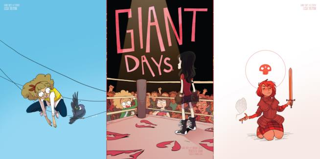 Le protagoniste di Giant Days
