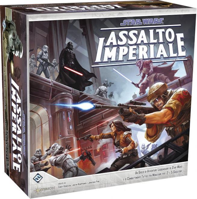 L'edizione italiana di Star Wars Assalto Imperiale