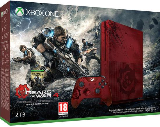 Xbox One S, annunciati due nuovi bundle con Gears of War 4