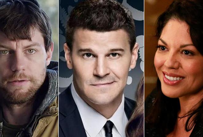 Outcast, Bones 10, Grey's Anatomy 12