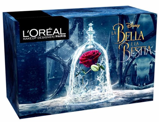 Cofanetto make up limited edition La Bella e La Bestia