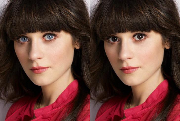 New Girl: Jess Day con gli occhi scuri