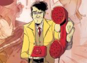 Copertina di Dirk Gently, Agenzia Investigativa Olistica a fumetti
