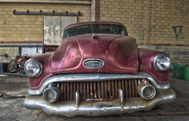 Una Buick 8 di fine anni '50