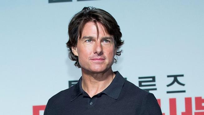 Tom Cruise alla premiere coreana di Mission Impossible 5: Rogue Nation.