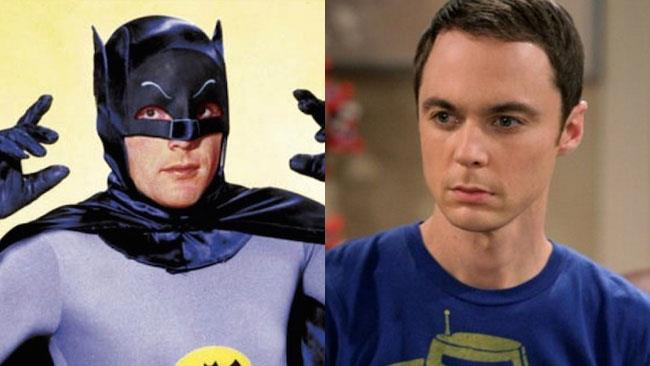 Adam West e Sheldon Cooper