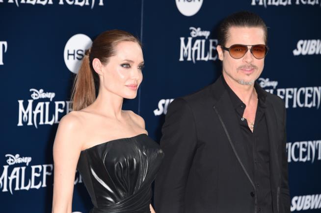 Brad Pitt e Angelina Jolie hanno ripreso a parlare