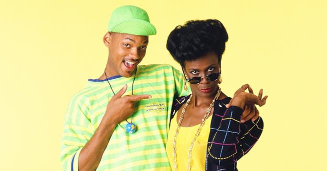 Will Smith e Janet Hubert