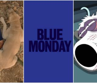 Collage tra finale Lost, Blue Monday e morte di Brian