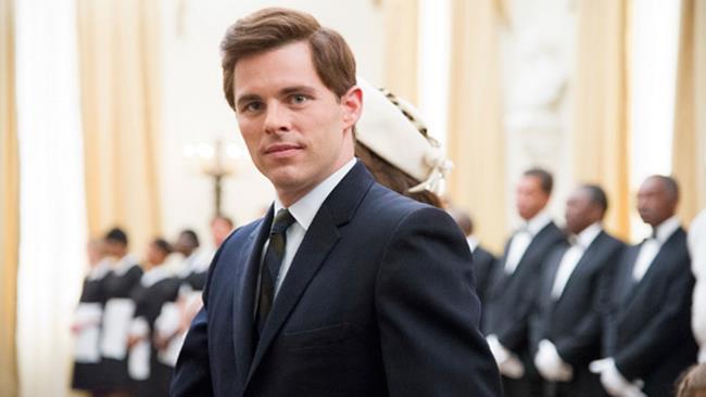James Marsden nel film The Butler