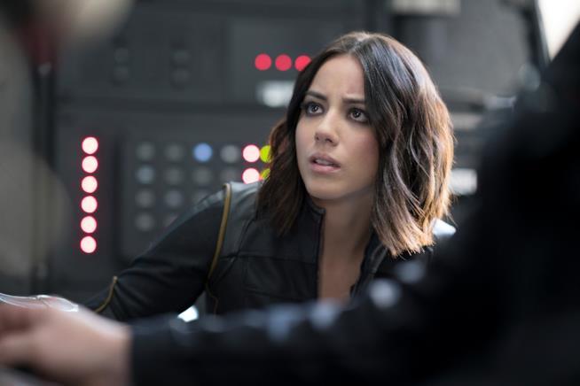 Chloe Bennet nel ruolo di Skye/Quake