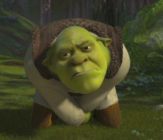 Una simpatica immagine di Shrek