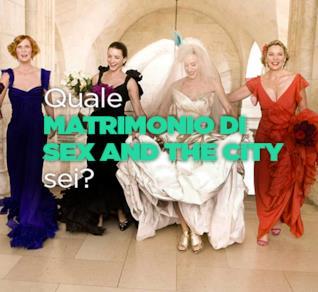 Quale matrimonio di Sex and the City sei?