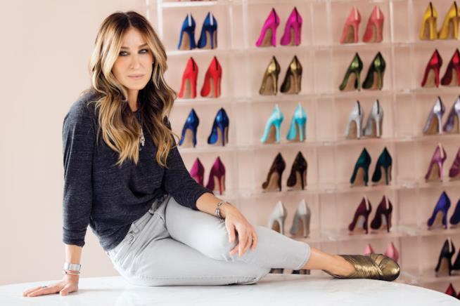 L'attrice e la sua passione per le scarpe