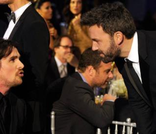 Christian Bale e Ben Affleck assieme