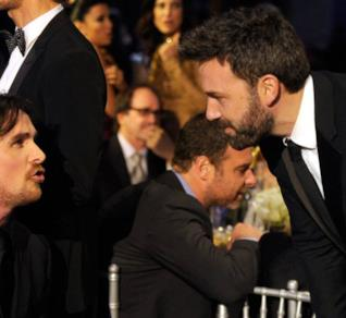Christian Bale e Ben Affleck assieme