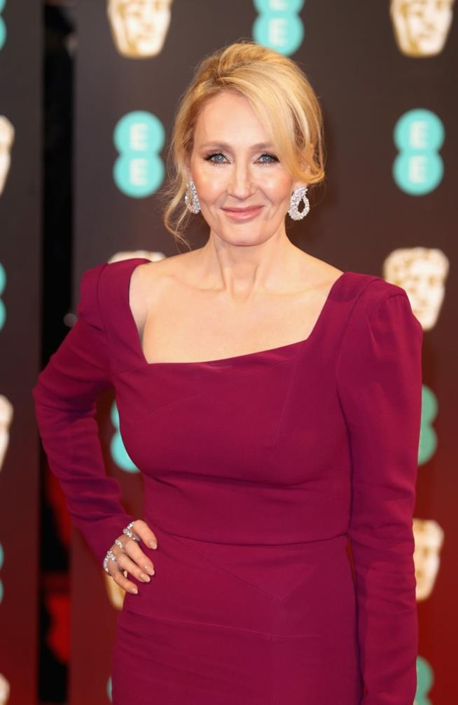 J. K. Rowling a un evento mondano