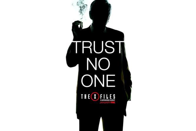 Poster promozionale del revival di X-Files 2