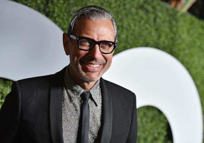 Jeff Goldblum sul red carpet a un evento