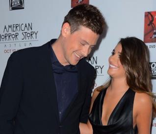 Lea Michele e Cory Monteith a un evento ufficiale nel 2012