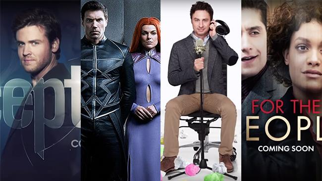 Le serie TV Deception, Marvel's Inhumans, Alex, Inc. e For the People