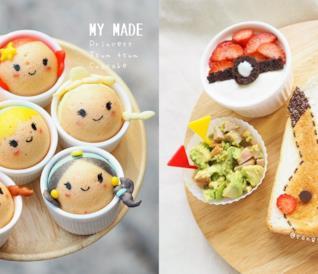 I dolci ispirati ai Pokémon e alle storie  animate per una tenerissima colazione!