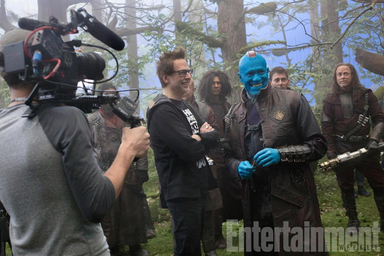 James Gunn e Yondu, Guardiani della Galassia 2