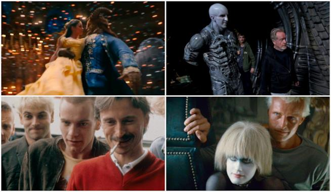 La Bella e la Bestia, Blade Runner, Trainspotting e Alien: Covenant