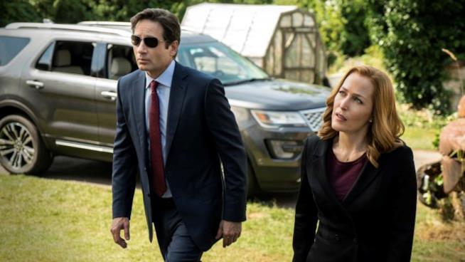 scena di X-Files
