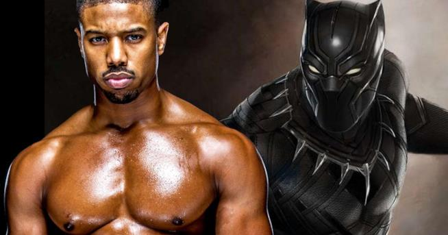 Michael B. Jordan e il suo nemico Black Panther